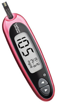 One Touch Ultra Easy Blood Glucose Meter